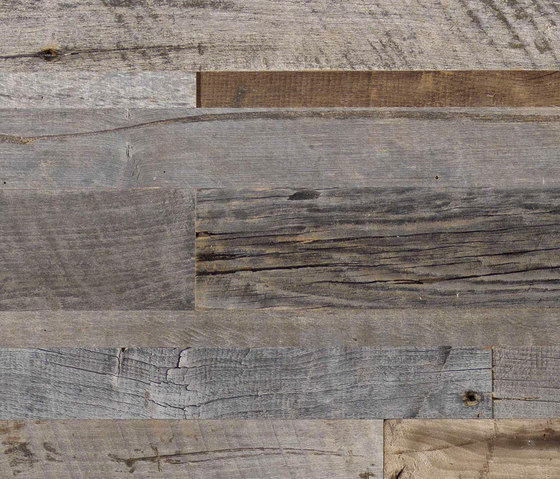 CUBE Reclaimed Wood Alder grey by Admonter | Wood panels