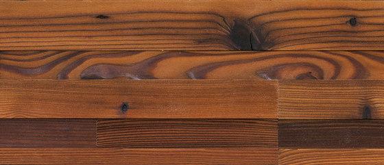 CUBE Larch dark by Admonter | Wood panels / Wood fibre panels