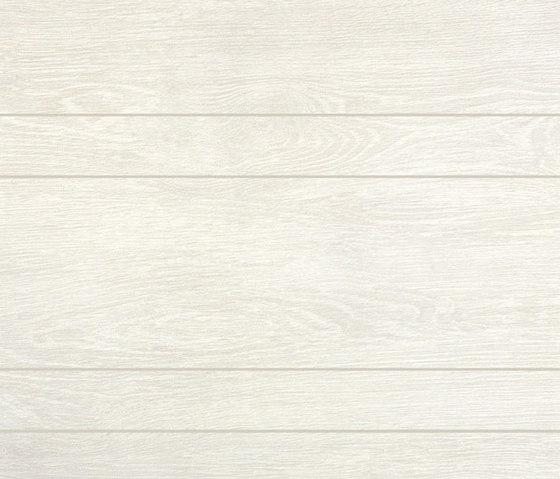Rovere white decapé preincisión irregular by Apavisa | Ceramic tiles