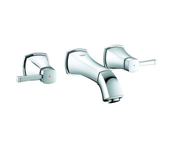 "Grandera Three-hole basin mixer 1/2"" S-Size by GROHE | Wash-basin taps"
