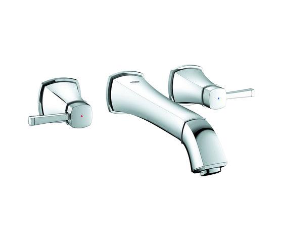 "Grandera Three-hole basin mixer 1/2"" M-Size by GROHE | Wash basin taps"
