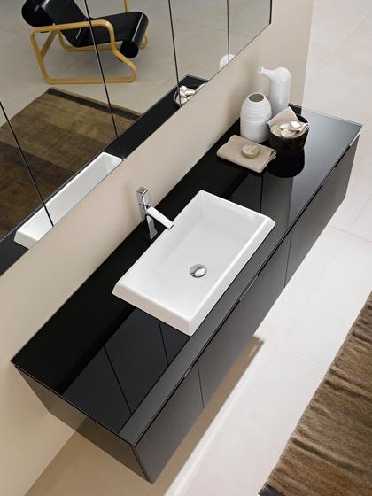 Lavabi minimal di milldue moon lavabo appoggio for Produttore di blueprint piano piano