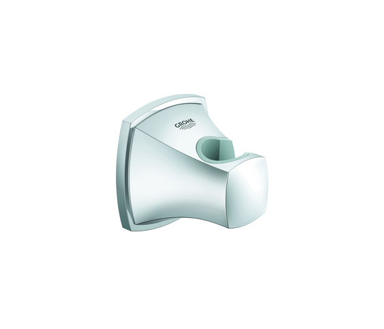 Grandera Wall hand shower holder by GROHE | Bathroom taps accessories