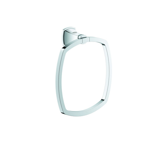 Grandera Towel ring by GROHE | Towel rails