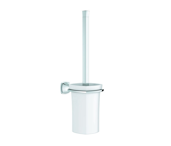 Grandera Toilet brush set by GROHE | Toilet brush holders