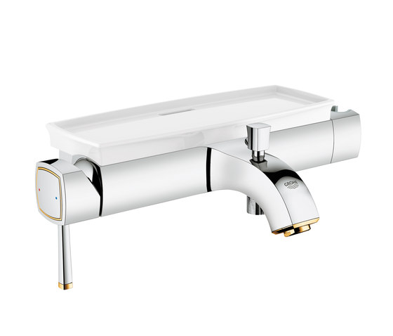 "Grandera Single-lever bath mixer 1/2"" by GROHE | Bath taps"