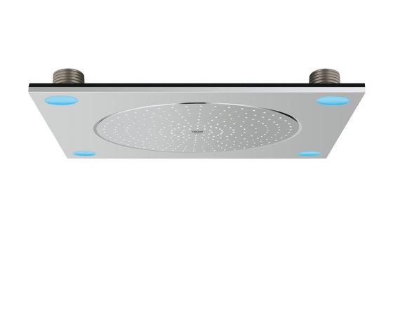 F-Digital deluxe Ceiling shower with light by GROHE | Shower taps / mixers