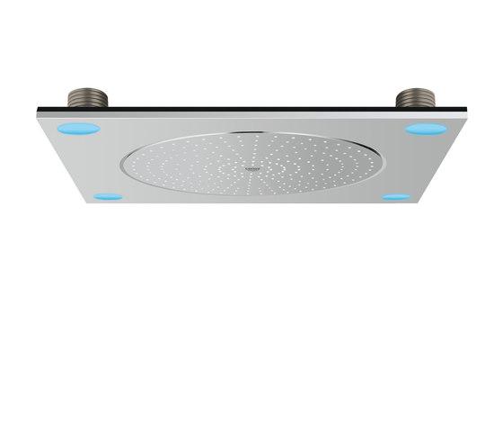 F-Digital deluxe Ceiling shower with light di GROHE | Rubinetteria doccia