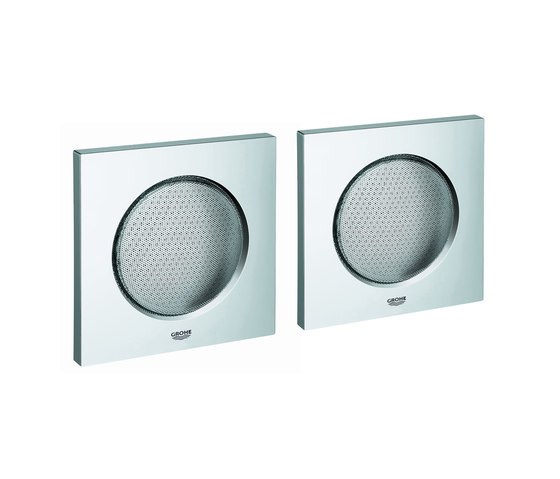 Rainshower F-Series Sound set by GROHE | Built-in speakers