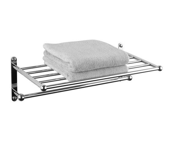 Vienna Towel rack with rail by Aquadomo | Towel rails