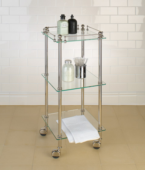 Tavolino | clear glass by Aquadomo | Bath shelving