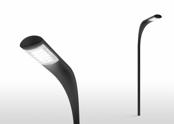 Indicta pole by Artemide Architectural | Street lights