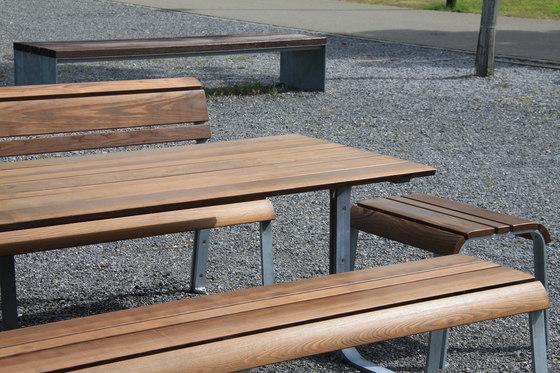 Vivendi Bench by BURRI | Exterior benches
