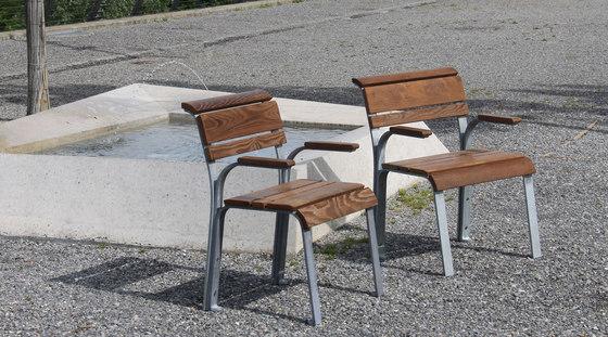 Vivendi Armchair by BURRI | Exterior chairs