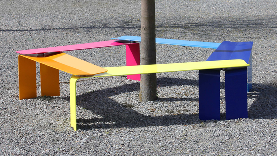 Plico Bench by BURRI | Garden stools