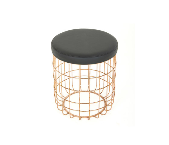 Wire Group Low Stool by Dare Studio | Stools