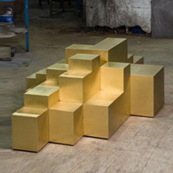 Platform B Coffee table by Karen Chekerdjian | Coffee tables