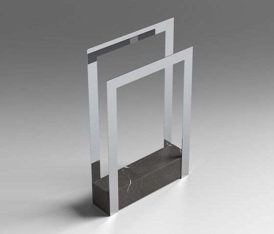 Foglio di sign astone pietra naturale prodotto for Portasalviette bagno design