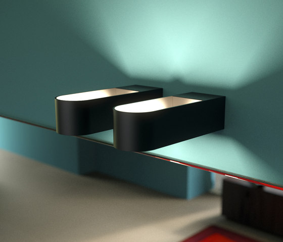 Lucemezzo by Sign | Wall-mounted spotlights