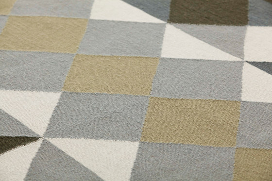 Mosaïek Kilim Rug Grey 1 by GAN | Rugs / Designer rugs