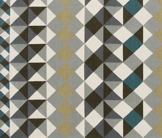 Mosaïek Kilim Rug Grey 1 von GAN | Formatteppiche / Designerteppiche