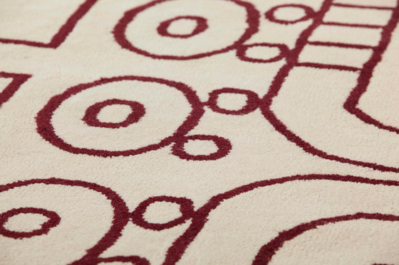 Surf Rug Malibú Atlántico 3 by GAN | Rugs / Designer rugs