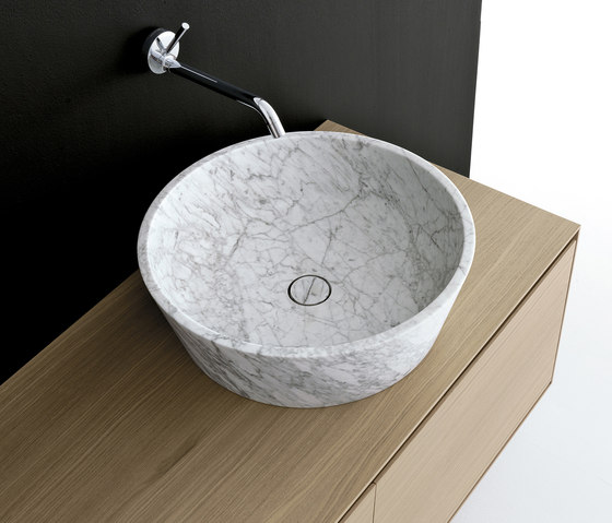 Kono Stone by Berloni Bagno | Wash basins