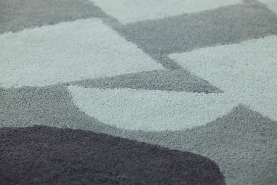Surf Rug Race Índico Blue 1 by GAN | Rugs / Designer rugs