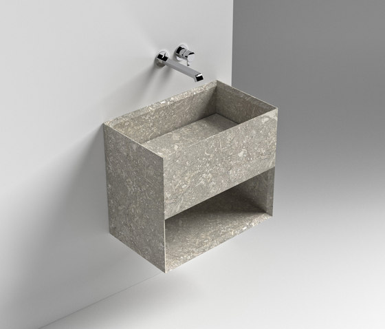 Rettangolo Hanging Stone by Sign | Vanity units
