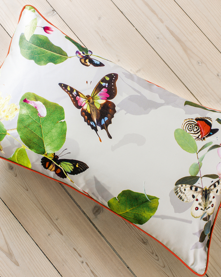 CUSHION COVER PAPILLON - 1091 di Création Baumann | Cuscini