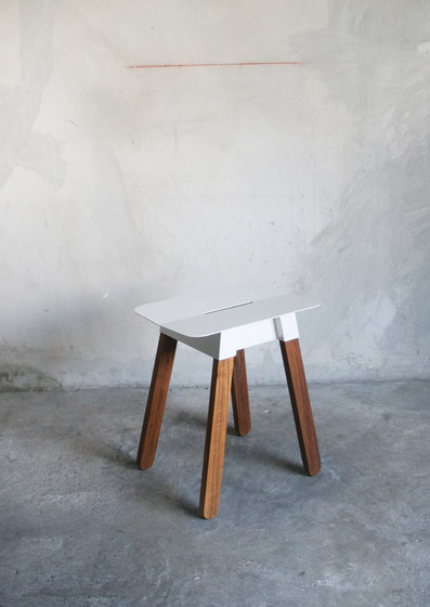 SIM STEEL Stool by TAKEHOMEDESIGN | Garden stools
