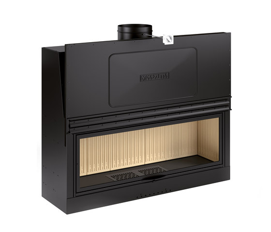 MA 265 SL by Piazzetta | Wood fireplace inserts