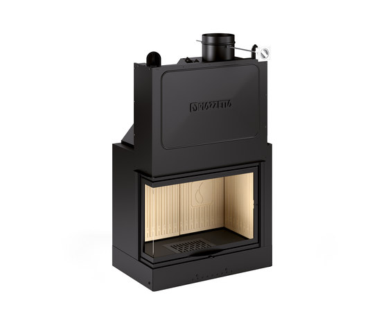MA 280 D/S SL by Piazzetta | Wood fireplace inserts