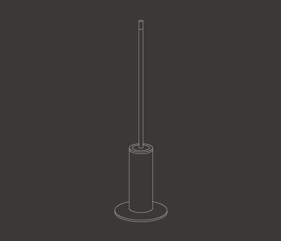 Stem POS05 by CEADESIGN | Toilet brush holders