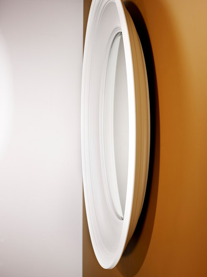 Clara white by Deknudt Mirrors | Mirrors