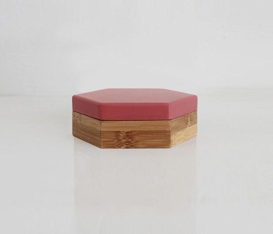 Hex Box Small Colour de Evie Group | Contenedores / cajas