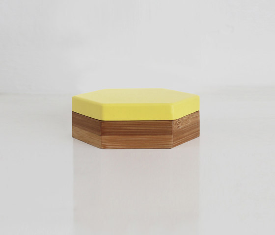 Hex Box Small Colour de Evie Group | Contenedores / cajas