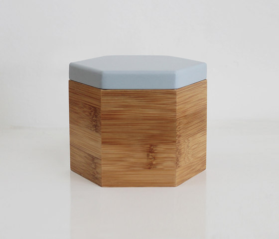 Hex Box Tall Colour by Evie Group | Storage boxes