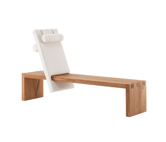 core reclining bench seat by rosconi | Waiting area benches