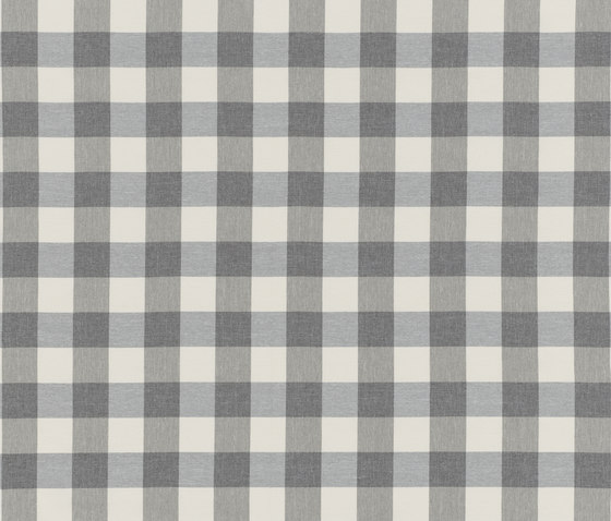 NIZZA-CHECK - 91 SILVER by Nya Nordiska | Outdoor upholstery fabrics