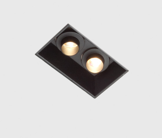 Down in-Line 55 double directional di Kreon | Lampade parete incasso