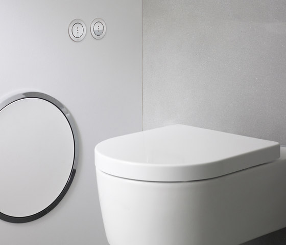 RS83E Electronic dual flow cistern flush by VOLA | Flushes