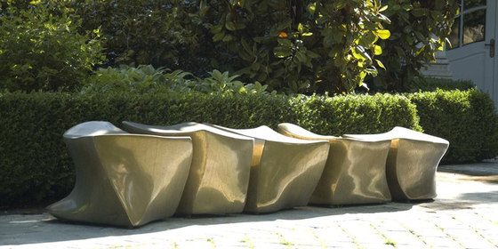 L5 Spine Bench by Marie Khouri Design | Garden benches