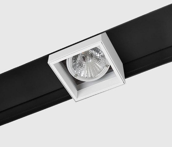 Prologe 145 in-Line/in-Dolma single/single directional by Kreon | Track lighting