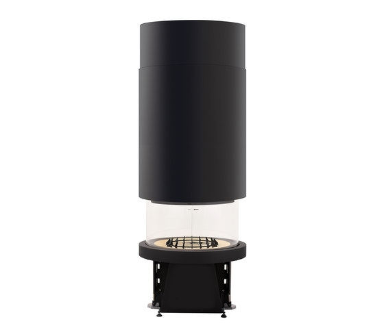 M 360 B cappa cilindrica by Piazzetta | Wood fireplace inserts