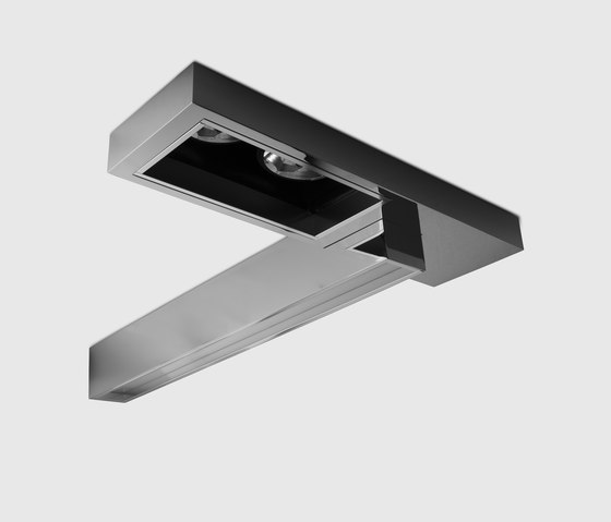Regard Double by Kreon | Ceiling-mounted spotlights