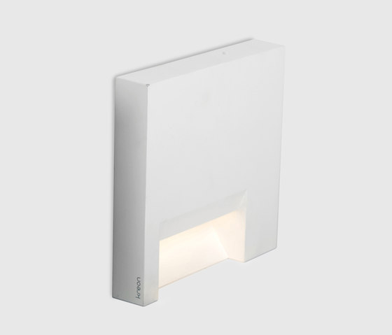 Mini square Rokko by Kreon | Recessed wall lights