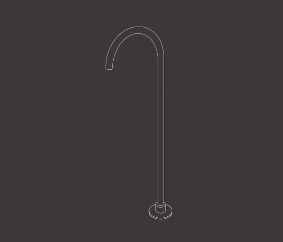 Free Ideas FRE58 de CEADESIGN | Robinetterie pour baignoire