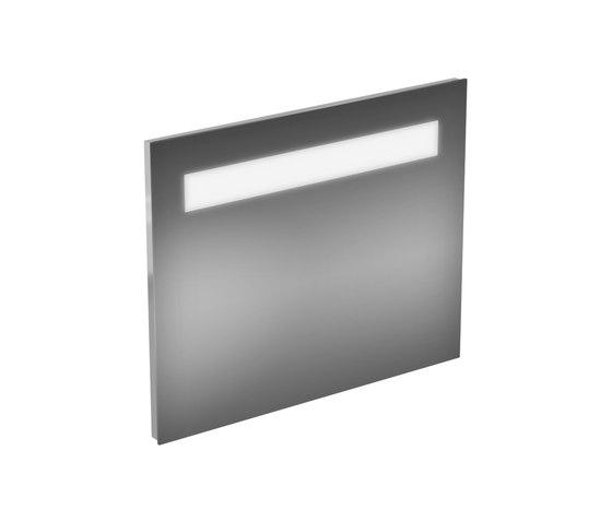 strada spiegel mit licht 800mm 2 x 13 watt wall. Black Bedroom Furniture Sets. Home Design Ideas