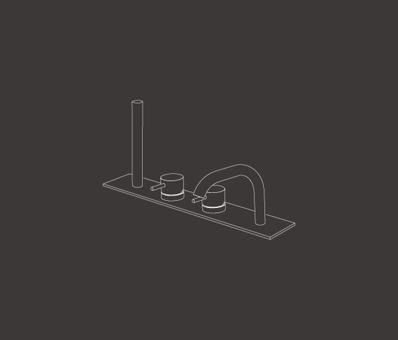 Milo360 MIL88 de CEADESIGN | Grifería para bañeras